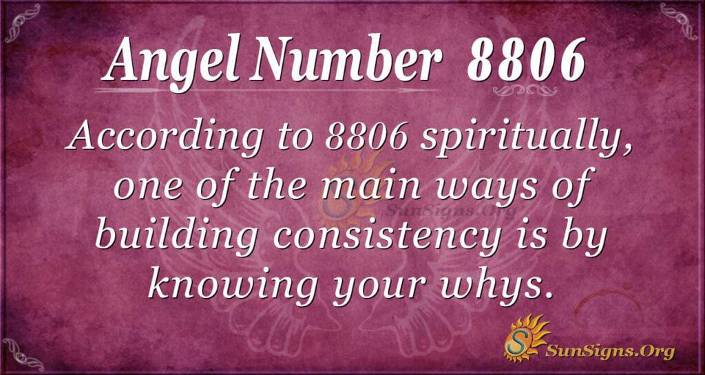 8806 angel number