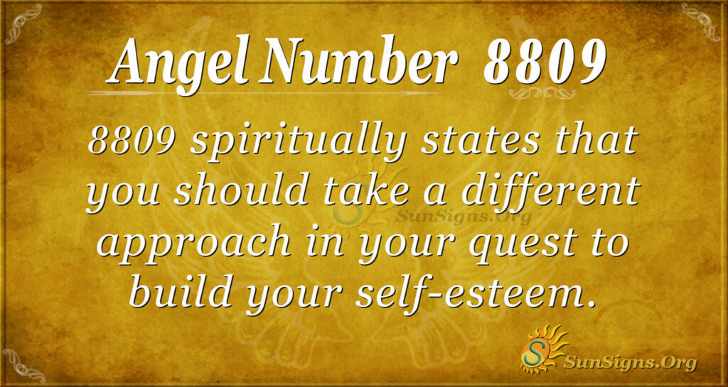 8809 angel number