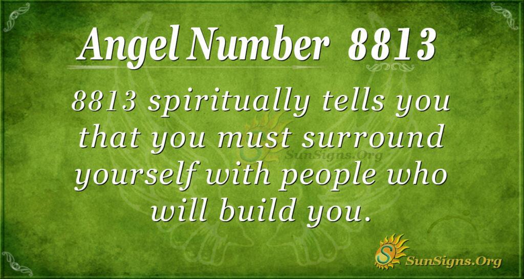 8813 angel number