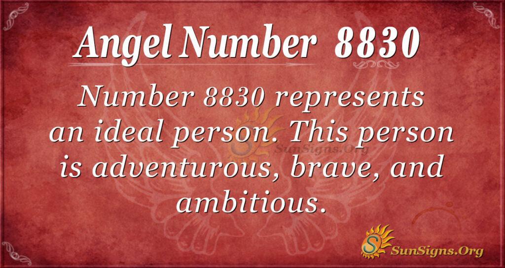 8830 angel number