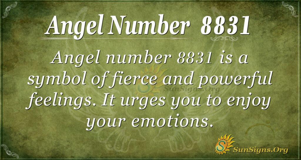 8831 angel number