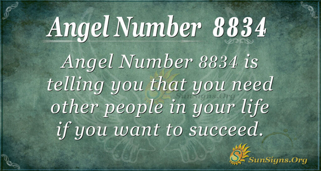 8834 angel number