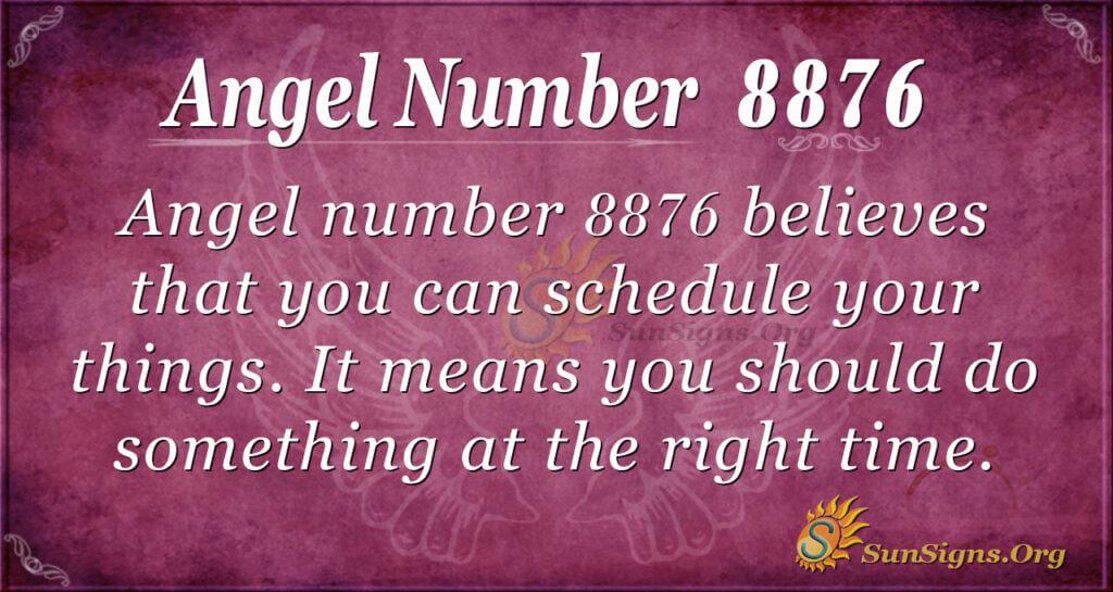 8876 angel number