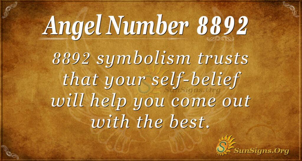 8892 angel number