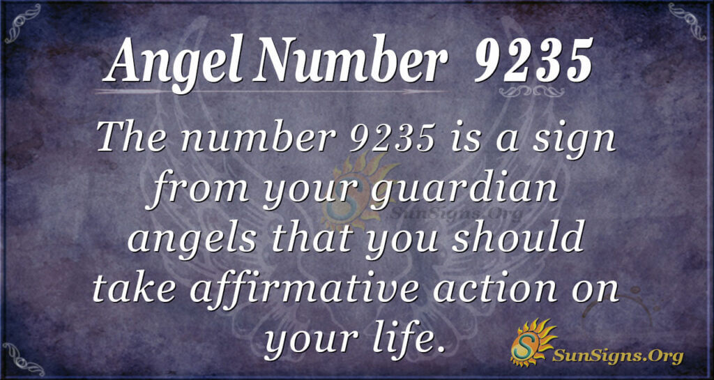 9235 angel number
