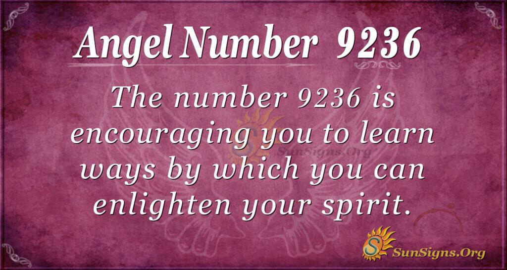 9236 angel number