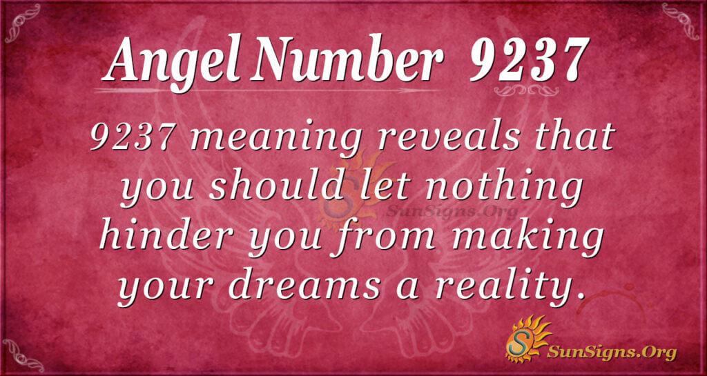 9237 angel number