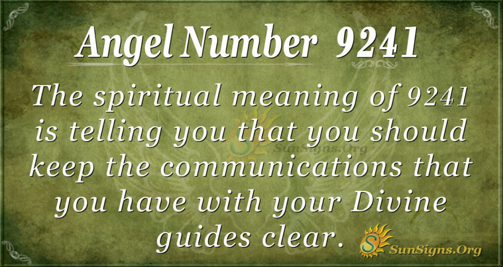 9241 angel number