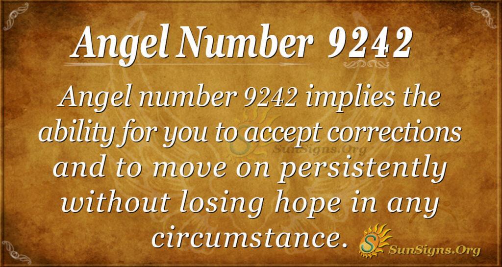 9242 angel number
