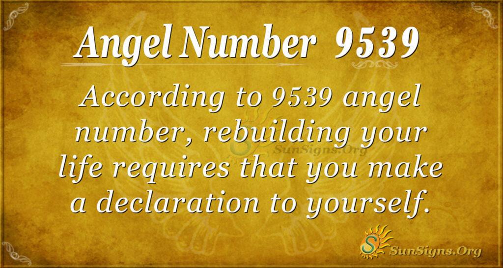 9539 angel number