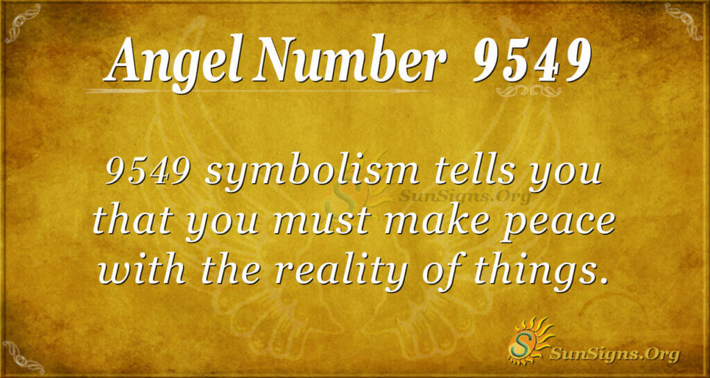 9549 angel number