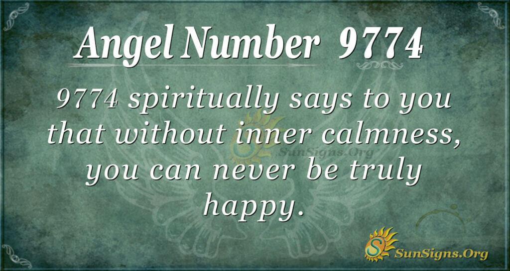 9774 angel number
