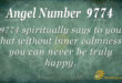 9774 angel number