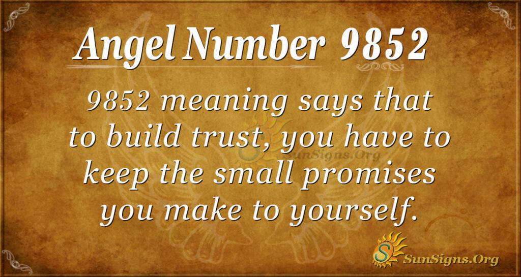 9852 angel number