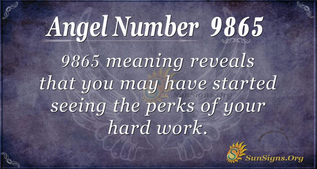 9865 angel number