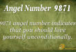9871 angel number