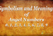 symbolism and meanings of angel numbers