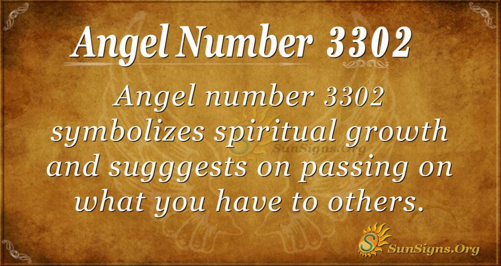 3302 angel number