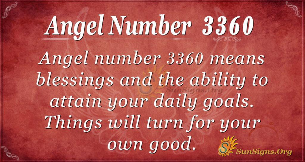 3360 angel number