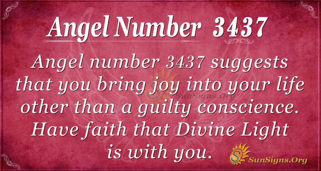 3437 angel number
