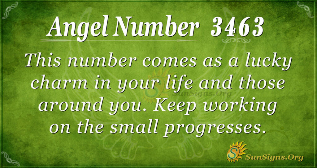 3463 angel number