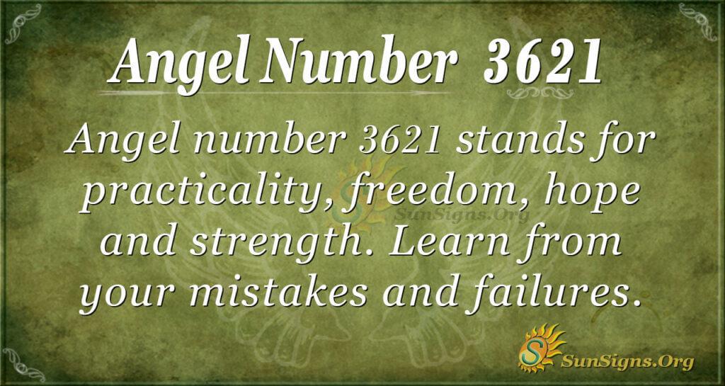 3621 angel number