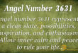 3631 angel number