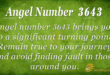 3643 angel number