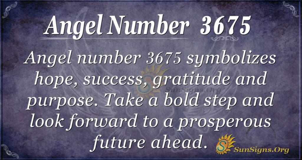 3675 angel number