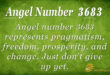 3683 angel number
