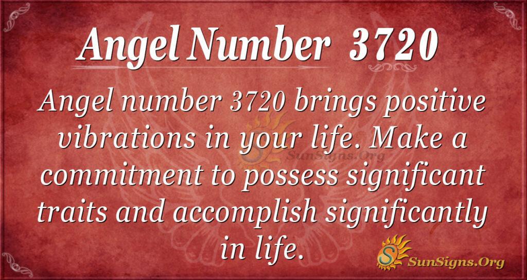3720 angel number