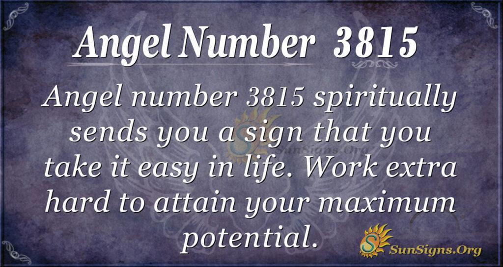 3815 angel number