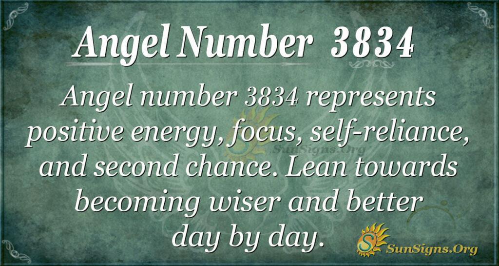 3834 angel number