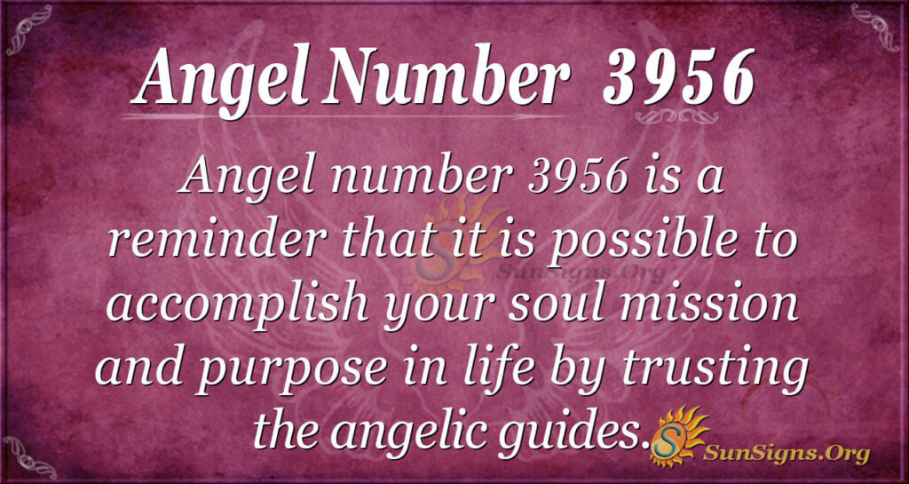 Angel Number 3956