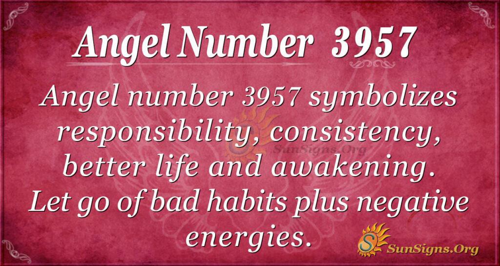 3957 angel number