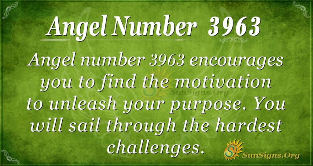 3963 angel number