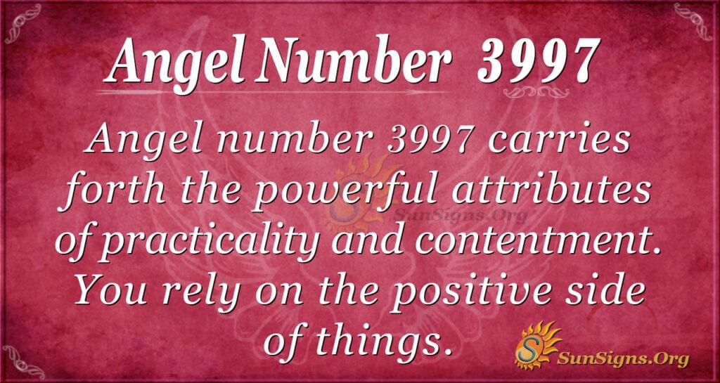 3997 angel number