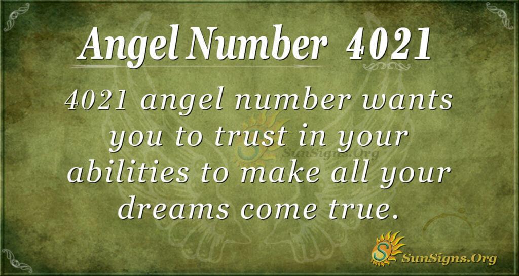 4021 angel number