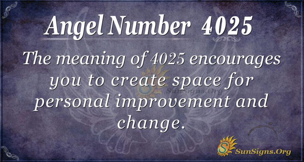 4025 angel number