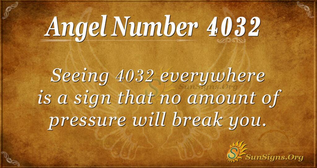 4032 angel number