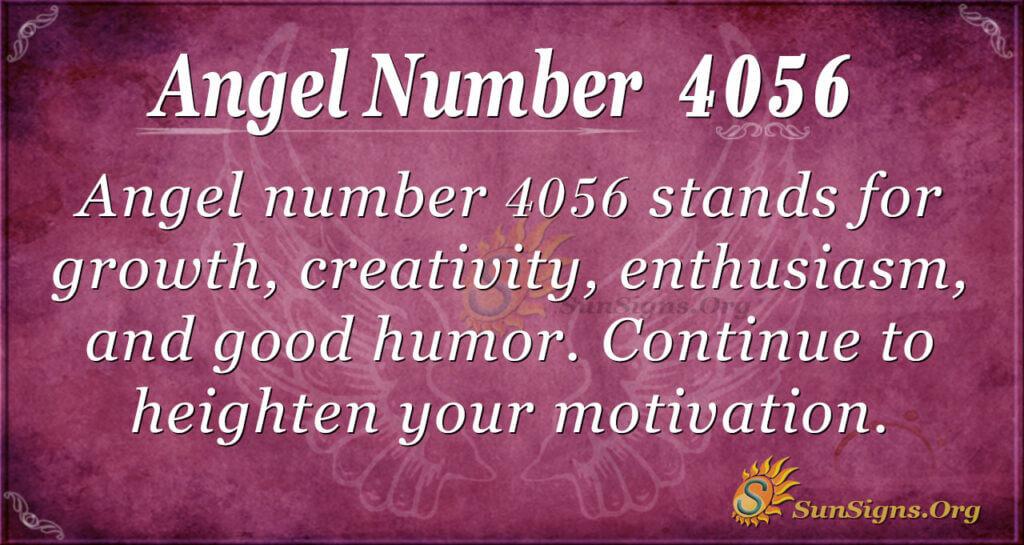4056 angel number