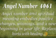 4061 angel number