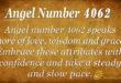 Angel number 4062