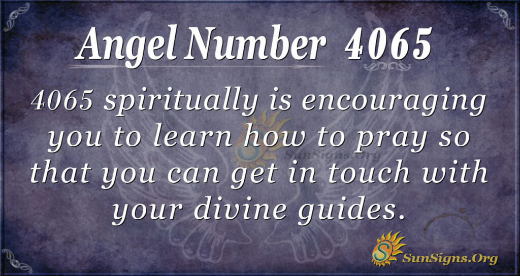 4065 angel number