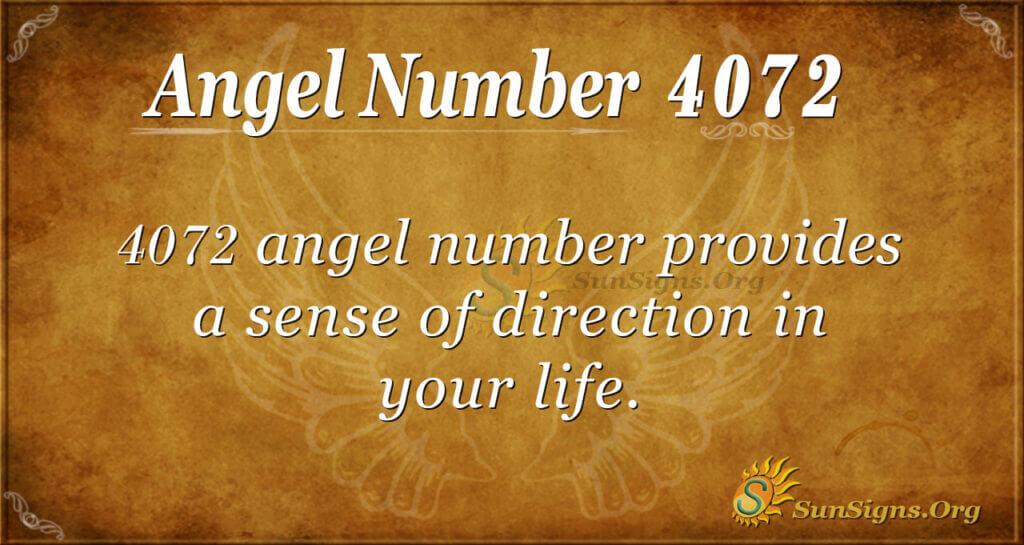 4072 angel number