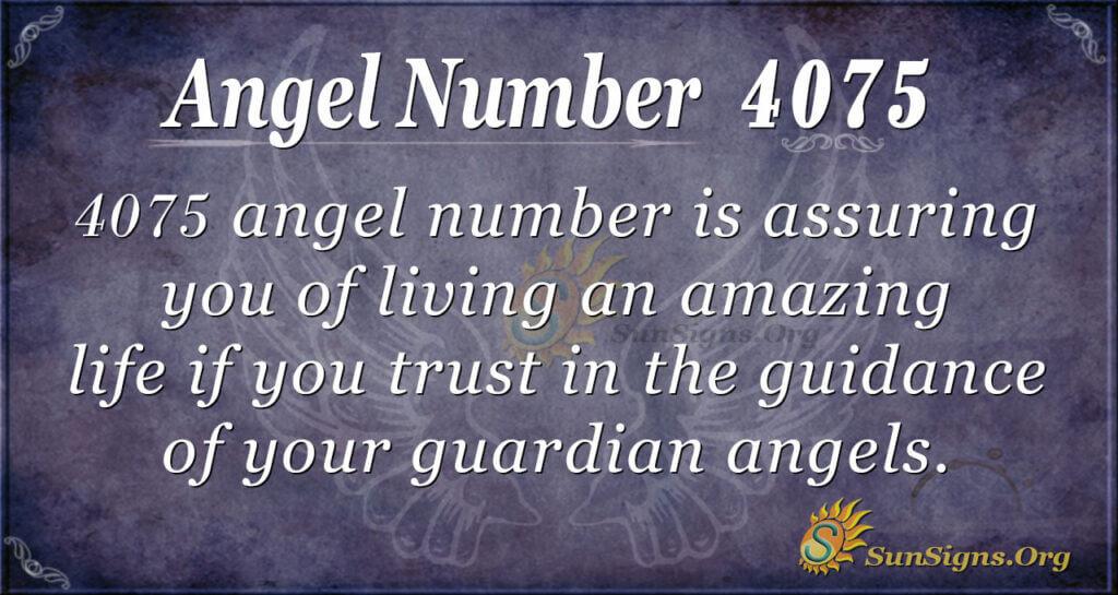 4075 angel number