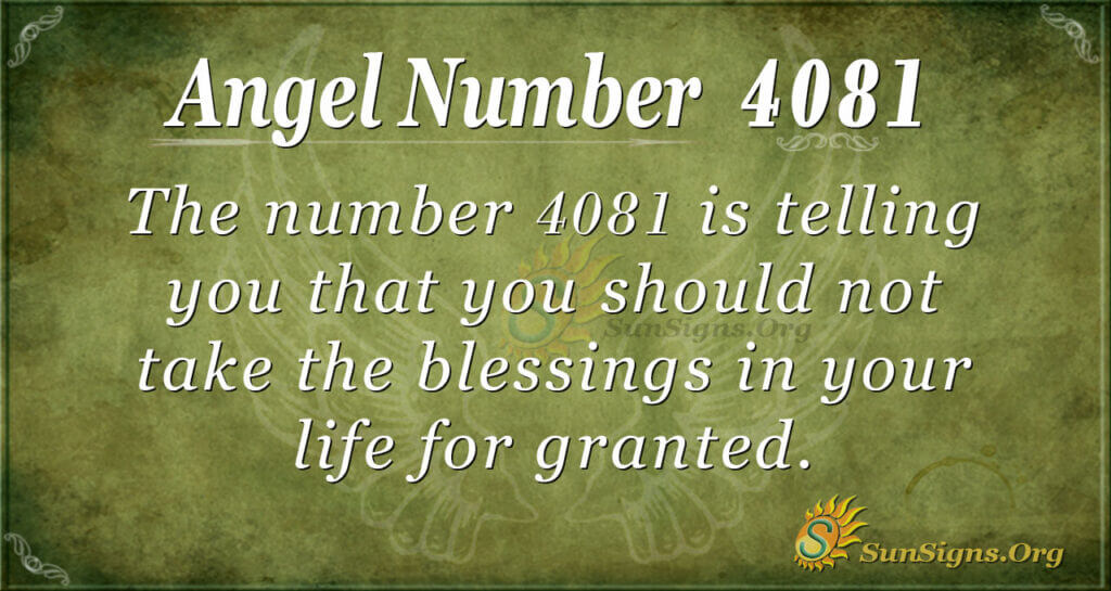4081 angel number