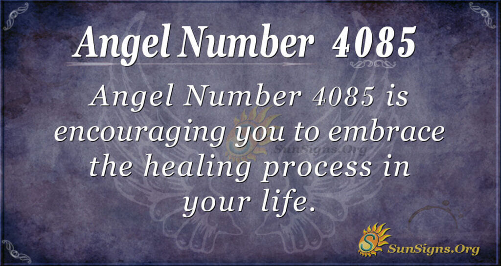 4085 angel number