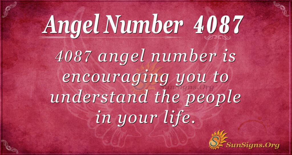 4087 angel number