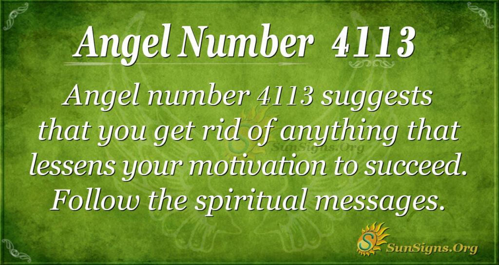 4113 angel number